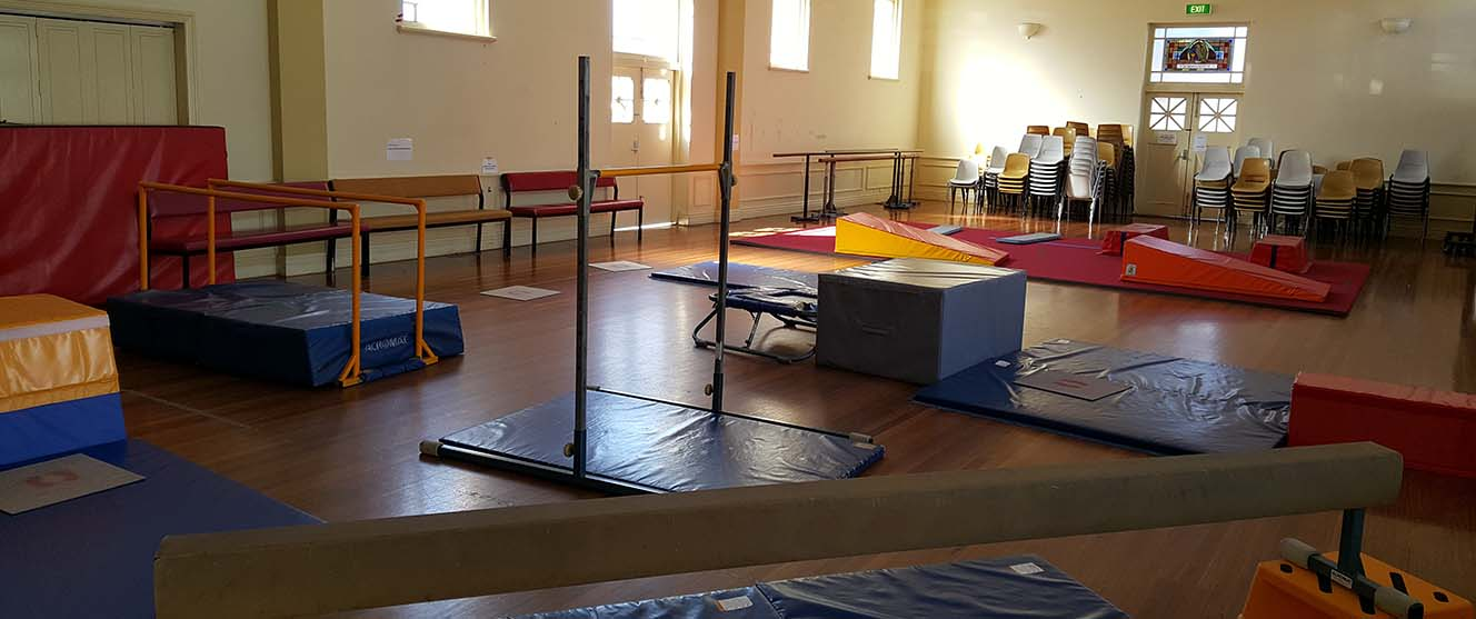 gymnastics equipment hire picture